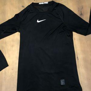 Black Nike Compression Shirt